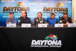 50+Predator/Alegra press conference: Elliott Forbes-Robinson, Jim Pace, Byron Defoor, Brian Johnson and Carlos de Quesada