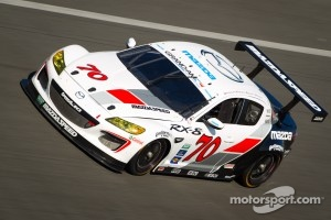 #70 SpeedSource Mazda RX-8: Jonathan Bomarito, Marino Franchitti, James Hinchcliffe, Sylvain Tremblay