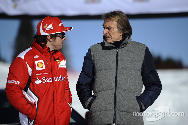 Fernando Alonso and Luca di Montezemolo