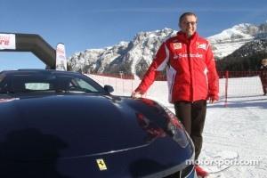 Ferrari Team Principal Stefano Domenicali