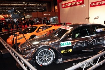 Mclaren MP4-12C and Mercedes DTM