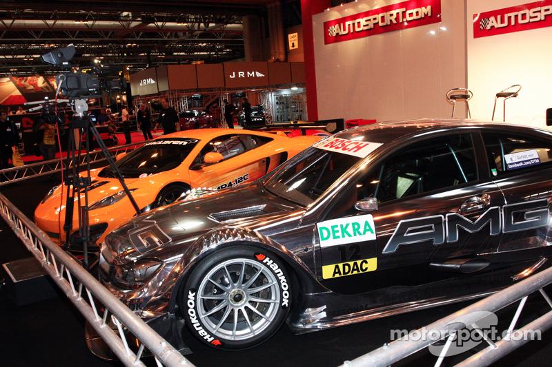 Mclaren MP4-12C and Mercedes DTM
