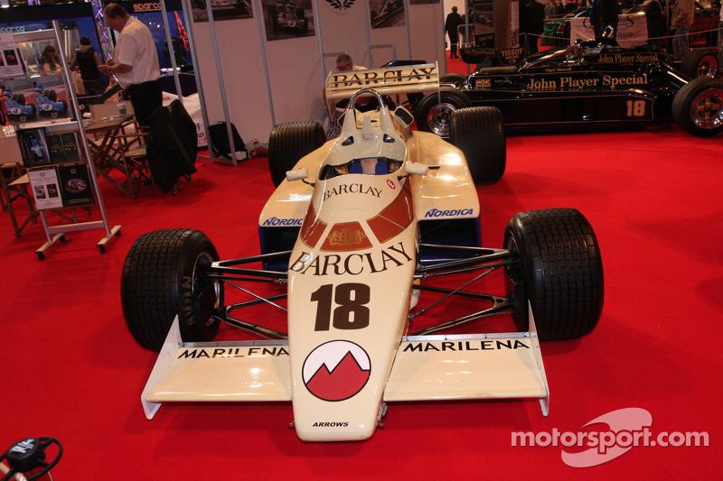 Classic F1 car