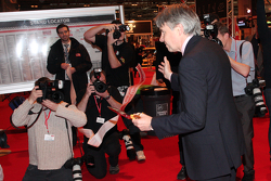 Lord Drayson opens the Autosport Show