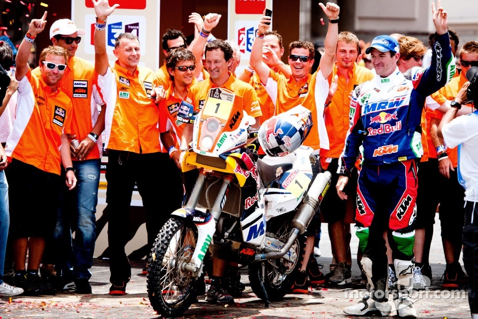 #1 KTM: Marc Coma