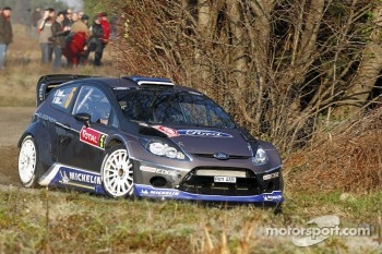 Ott Tanak and Kuldar Sikk, Ford Fiesta RS WRC