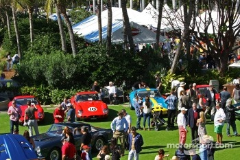 Ferrari GTO's on the Breakers lawn