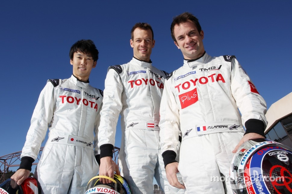 Kazuki Nakajima, Alexander Wurz, Nicolas Lapierre