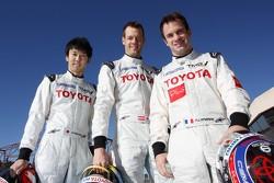 Kazuki Nakajima, Alexander Wurz, Nicolas Lapierre