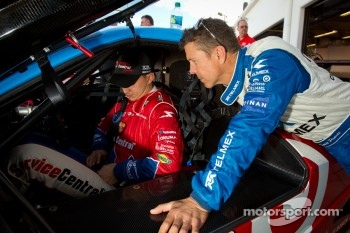 Graham Rahal and Scott Pruett