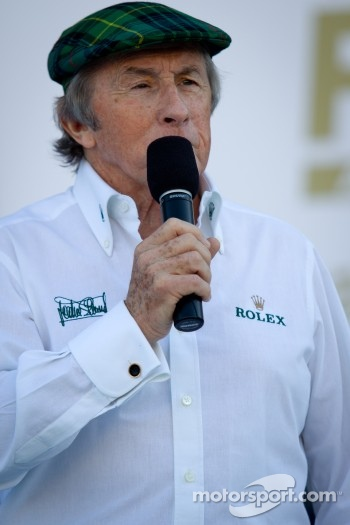 Drivers meeting: Jackie Stewart