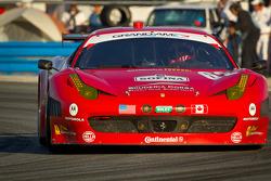 #62 Risi Competizione Ferrari 458: Gianmaria Bruni, Giancarlo Fisichella, Raphael Matos