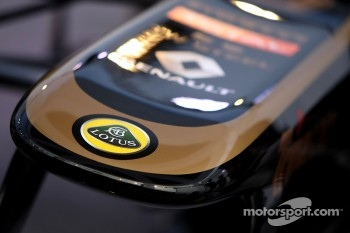 Lotus E20 nose detail