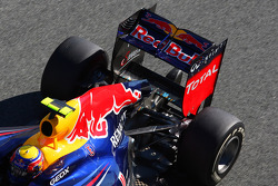 Mark Webber, Red Bull Racing in the new RB8 rear wing