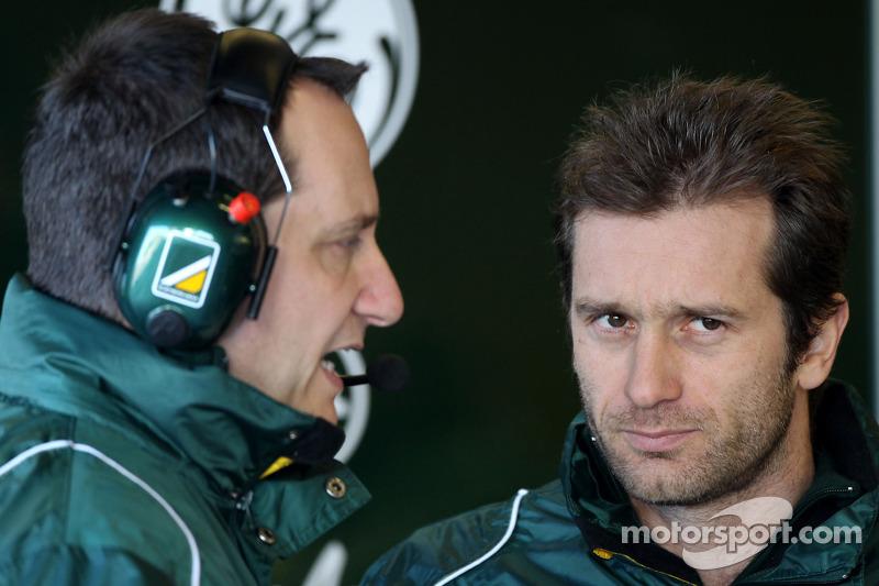 Jarno Trulli, Caterham Team