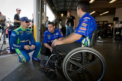 Casey Mears, Germain Racing Ford with Bootie Barker