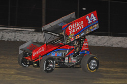 NASCAR-CUP: Tony Stewart in action in his winged sprint car