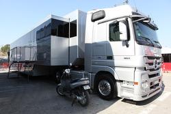 Nico Rosberg, Mercedes AMG Petronas motorhome