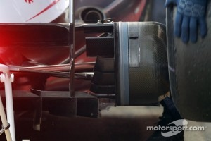Williams rear brake and ducts