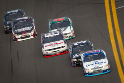 Elliott Sadler, Richard Childress Racing Chevrolet leads the field