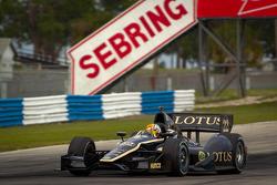 Oriol Servia, Lotus Dreyer & Reinbold Racing Lotus