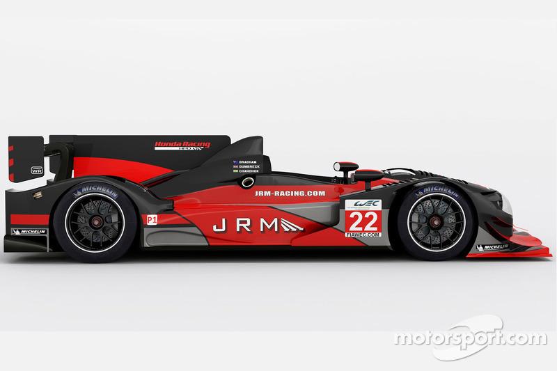 The JRM Racing HPD ARX-03a