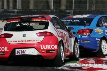 Gabriele Tarquini, SEAT Leon WTCC, Lukoil Racing Team pole position