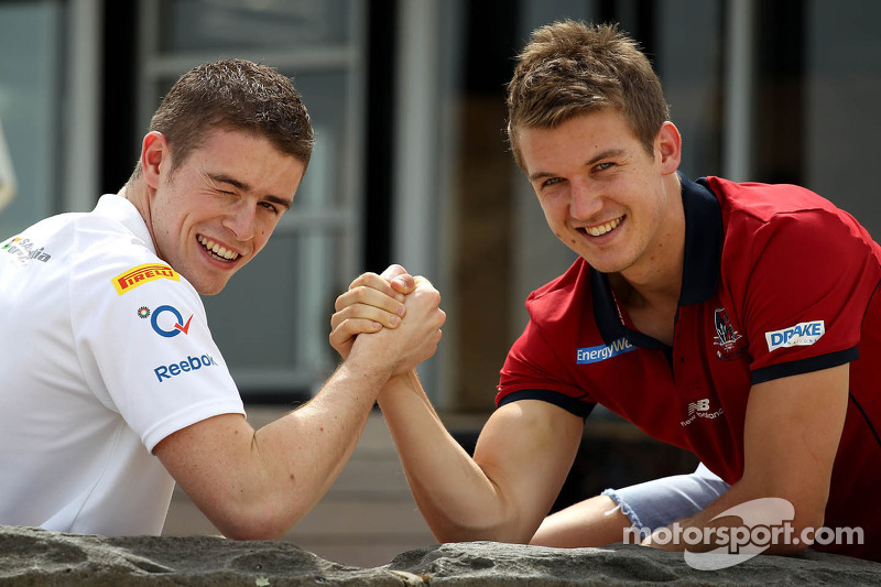 Paul di Resta, Sahara Force India Formula One Team and Jack Trengove, Australian rules football player