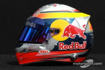 Jean-Eric Vergne, Scuderia Toro Rosso helmet 