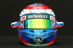 Vitaly Petrov, Caterham F1 Team helmet