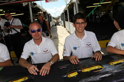 Jan Magnussen and Jordan Taylor