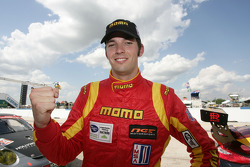 Sean Edwards celebrates GTC pole