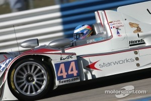 #44 Starworks Motorsports HPD ARX-03a HPD: Enzo Potolicchio, Ryan Dalziel, Stphane Sarrazin
