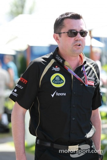 Eric Boullier, Team Principal, Lotus Renault GP