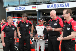 Timo Glock, Marussia F1 Team celebrates his 30th Birthday