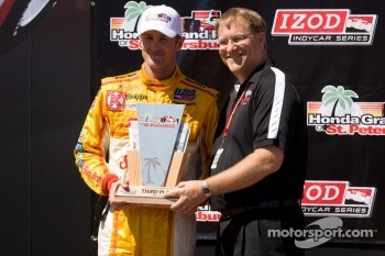Podium: third place Ryan Hunter-Reay, Andretti Autosport Chevrolet