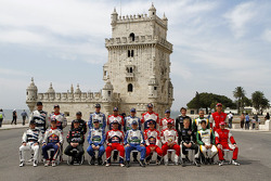 Drivers photoshoot