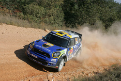 Patrik Sandell and Staffan Parmander, Mini John Cooper Works WRC, Prodrive MINI WRC TEAM