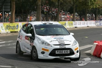 Frederik Ahlin and Bjorn Nilsson, Ford Fiesta R2