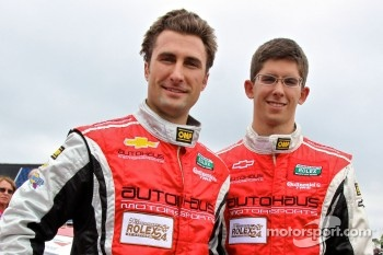 GT pole winners Paul Edwards, Jordan Taylor