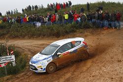 Alastair Fisher and Daniel Barrit, Ford Fiesta R2