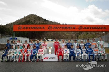GT500 drivers group photoshoot