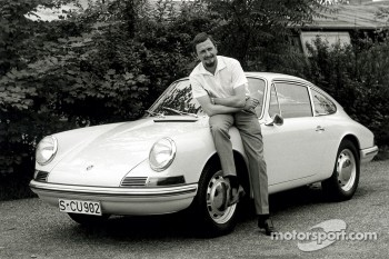 Porsche Typ 901 (T8), next to model: Ferdinand Alexander Porsche (1963)