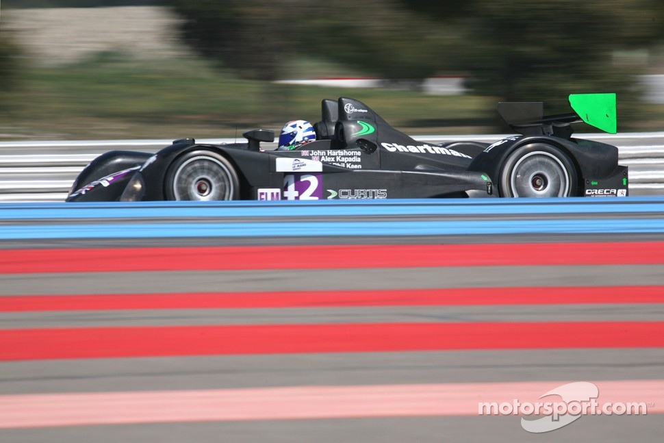 #42 Curtis Racing Technologies Formula Le Mans - Oreca - 09: John Hartshorne, Alex Kapadia, Phil Keen