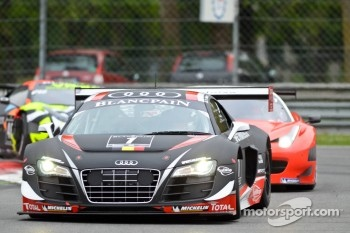#1 Belgian Audi Club Team WRT Audi R8 LMS: ultra: Christopher Haase, Christopher Mies, Stephane Ortelli