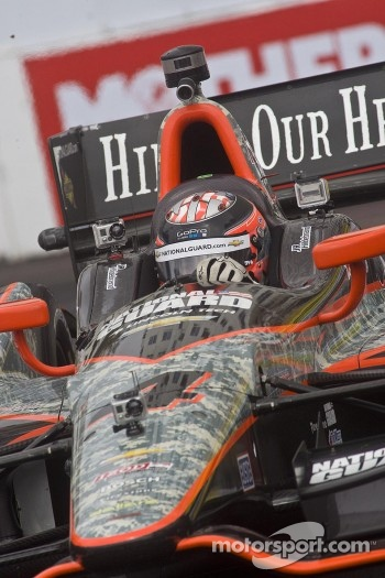 Go Pro cameras on JR Hildebrand Indy car