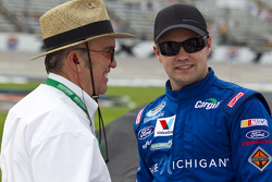 Ricky Stenhouse Jr., Roush Fenway Ford with Jack Roush