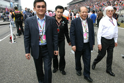 Bernie Ecclestone, and some guests