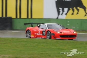 #71 Kessel Racing Ferrari 458 Italia: Stefano Gattuso, Daniel Zampieri, Davide Rigon