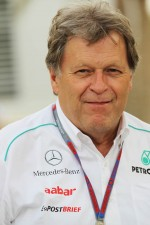 Norbert Haug, Mercedes Sporting Director